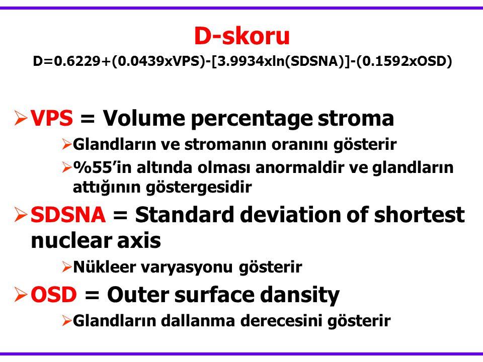 D=0.6229+(0.0439xVPS)-[3.9934xln(SDSNA)]-(0.1592xOSD)